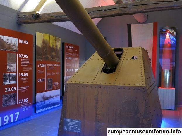 Long Max, Senjata Terbesar di Dunia Tahun 1917 di Museum Lange Max, Eropa